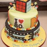 1980s style cake