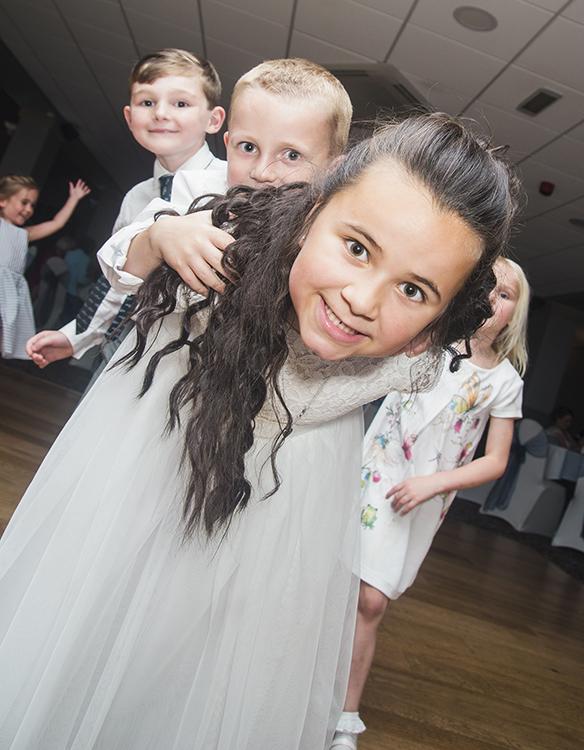 Children on the dance floor