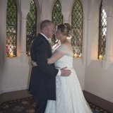 The Bride & Groom at Gorton Monastery