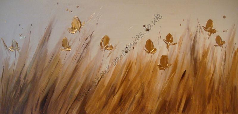 'Gold Irises'