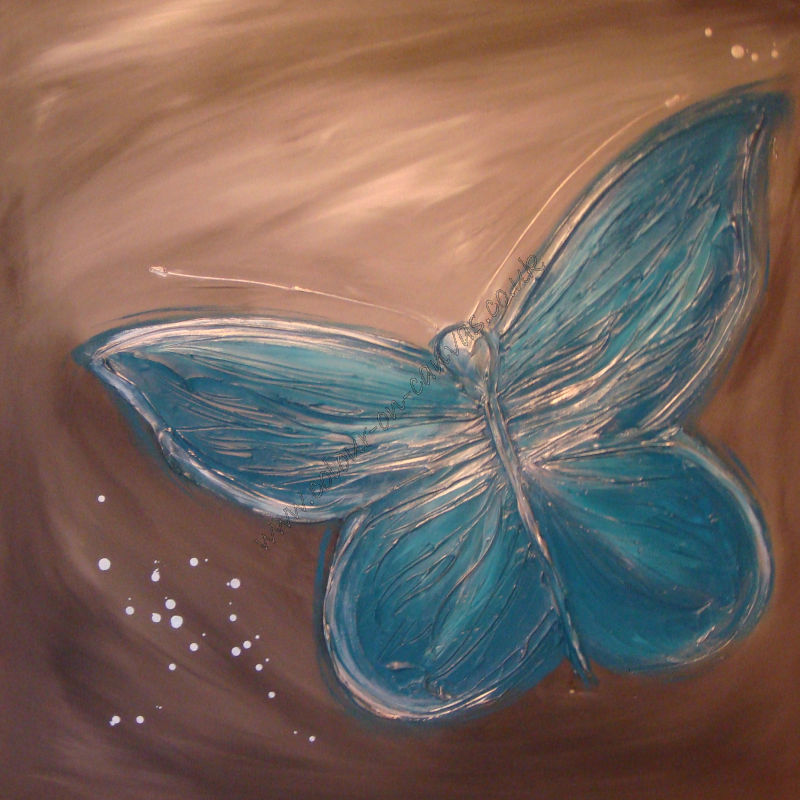 'Teal Butterfly'