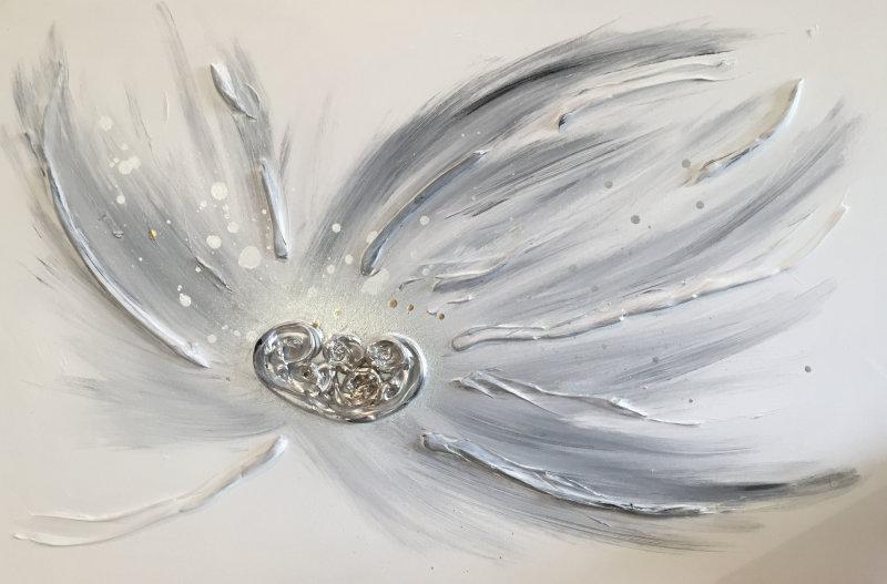 'Grey Floral'