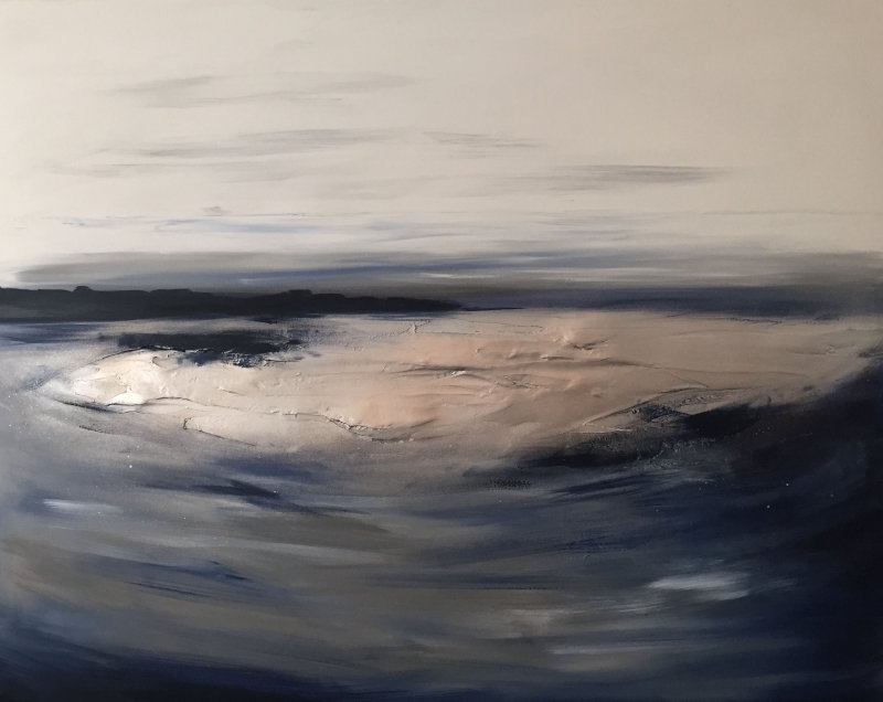'Serene - Navy & Greys'