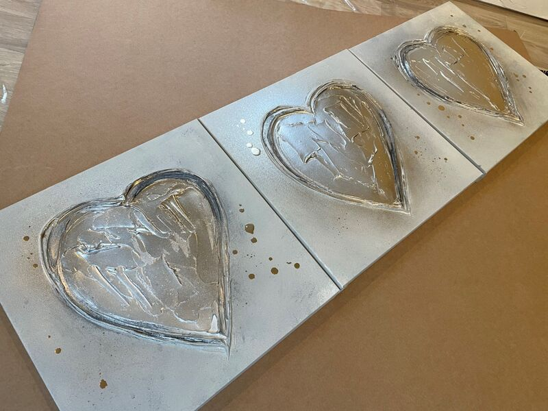 heart canvases