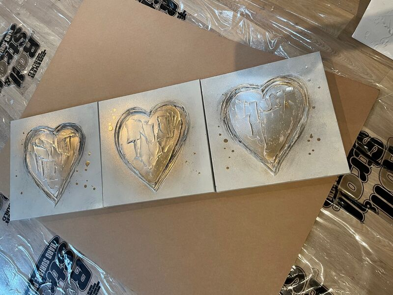 heart canvases 2