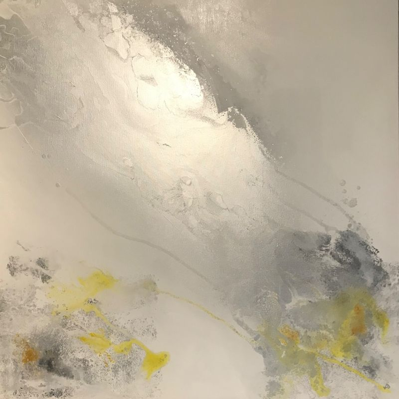 'Elemental - Silver/Greys/Yellow