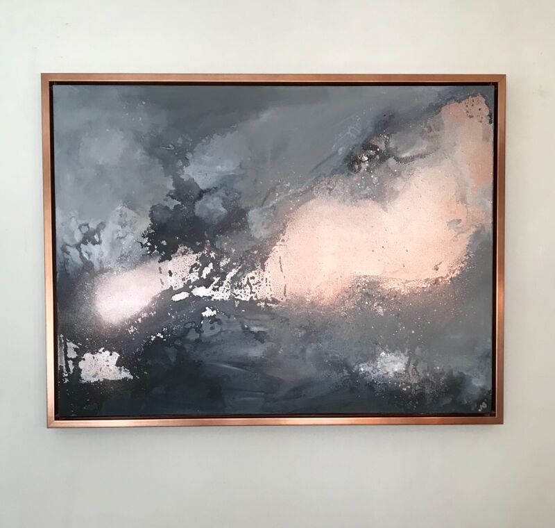'Copper/Grey Flow'