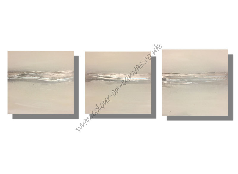 'Silver Sands (Set of 3)'
