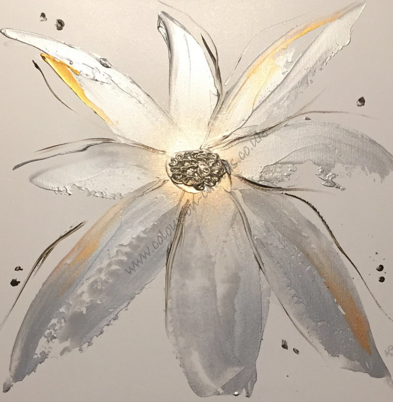 'Flow - Silver & Gold'