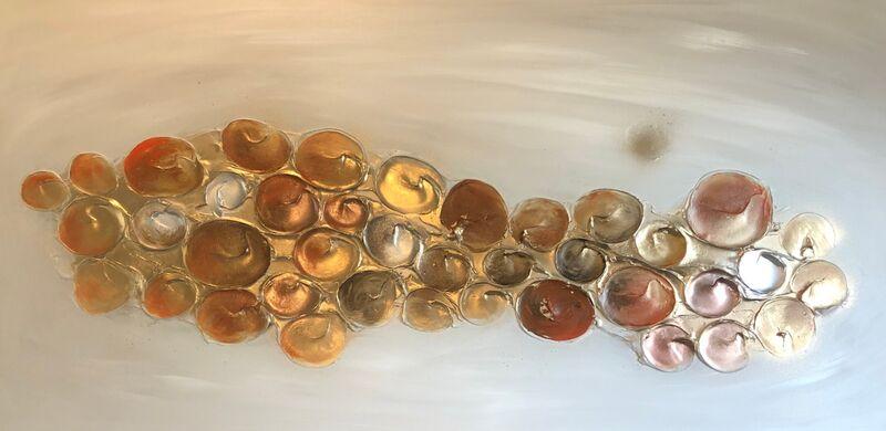 'Bubbles - Orange'