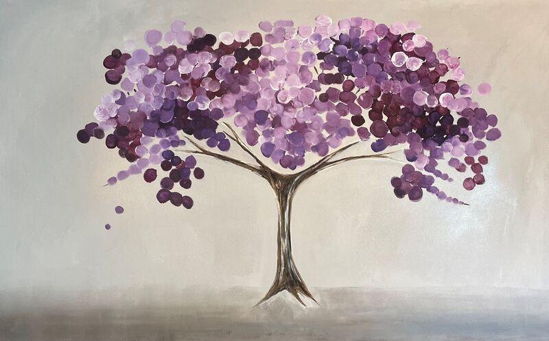 'Purple/Lilac Blossom'