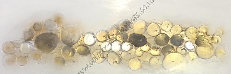 'Bubbles - Gold/neutrals'