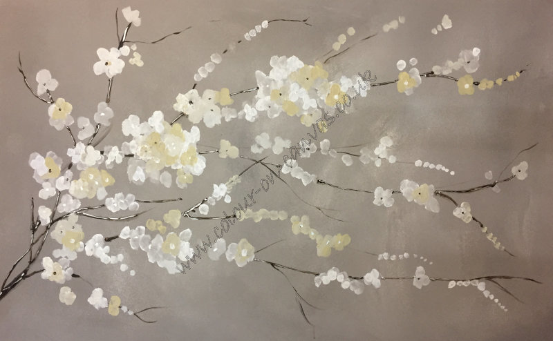 'Blossom Branch - Creams'