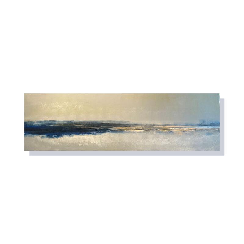 'Navy/Champagne Landscape'