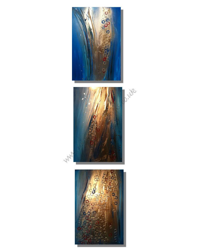 'Cosmos' Triptych