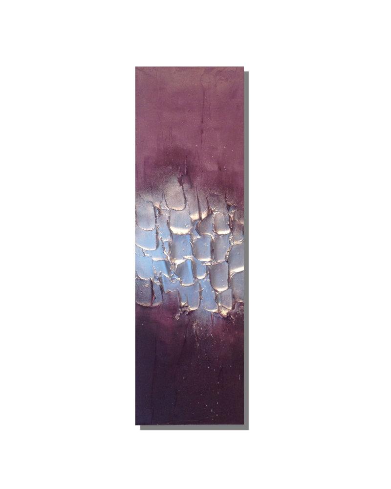 'Purple/Mauve/Silver Full Textured'