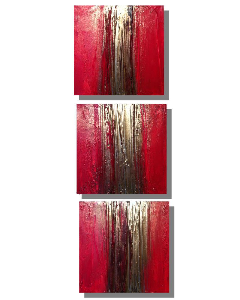 'Deep Red Glow (V)'