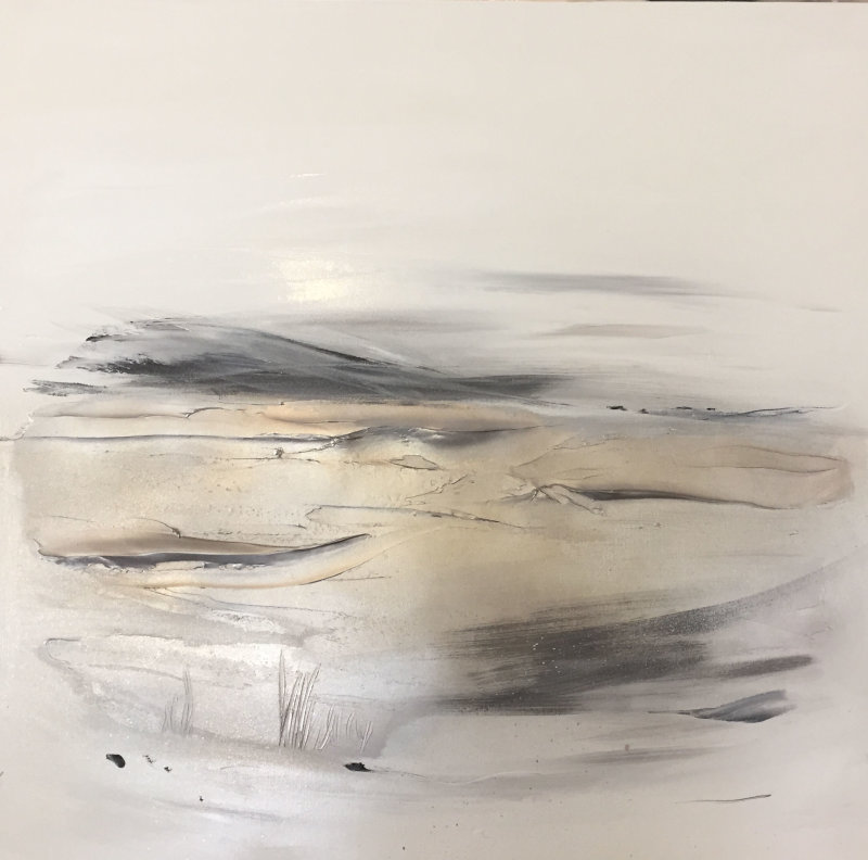 'Water's Edge 2 - Champagne gold/greys'