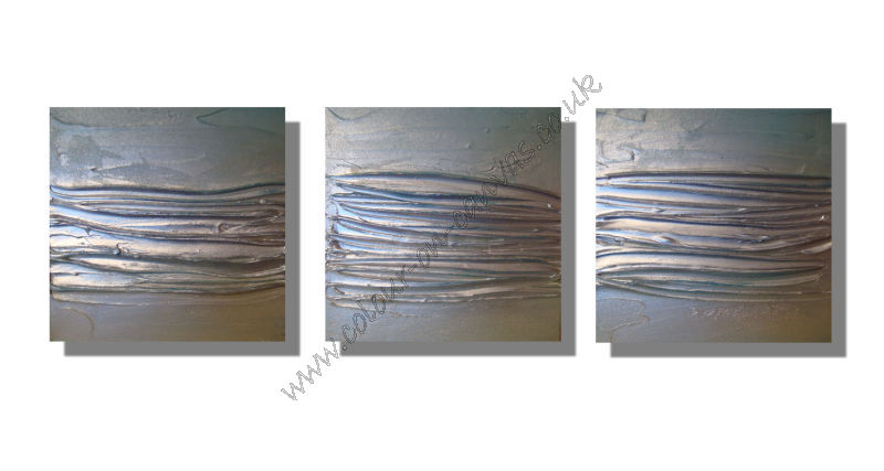Set of 3 'Streamlined - Duckegg'