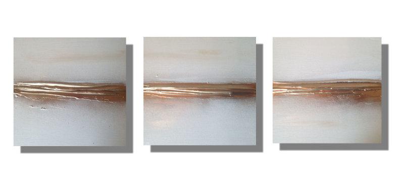 'Sands - Gold' Set of 3