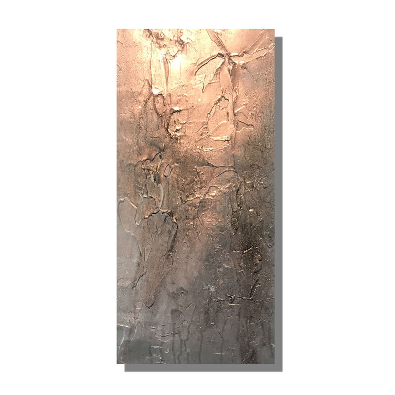 copper textured canvas