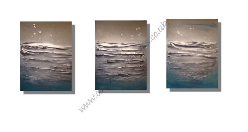 'Ripples' Set of 3