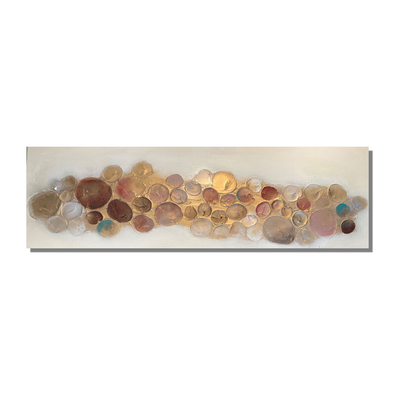 XL CANVAS 'Bubbles - Multi' 180x60cm £225