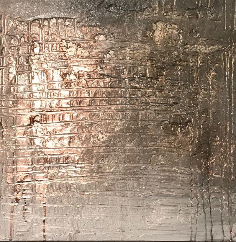 copper textured canvas