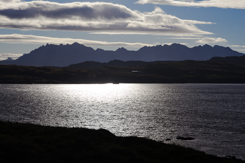 KW-SH-17-36 Cuillin Hills from Oronsay Isle of Skye