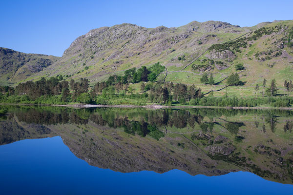 Nab Crags reflected in Thirlmere