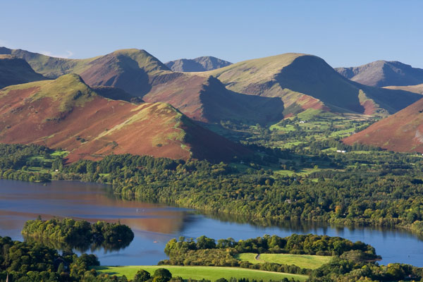 Newlands Valley across Derwent Water