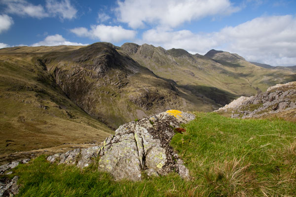 Crinckle Crags from Pike o' Blisco