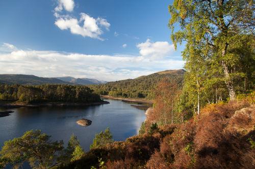 Loch Beinn a Mheadhoin, Glen Affric