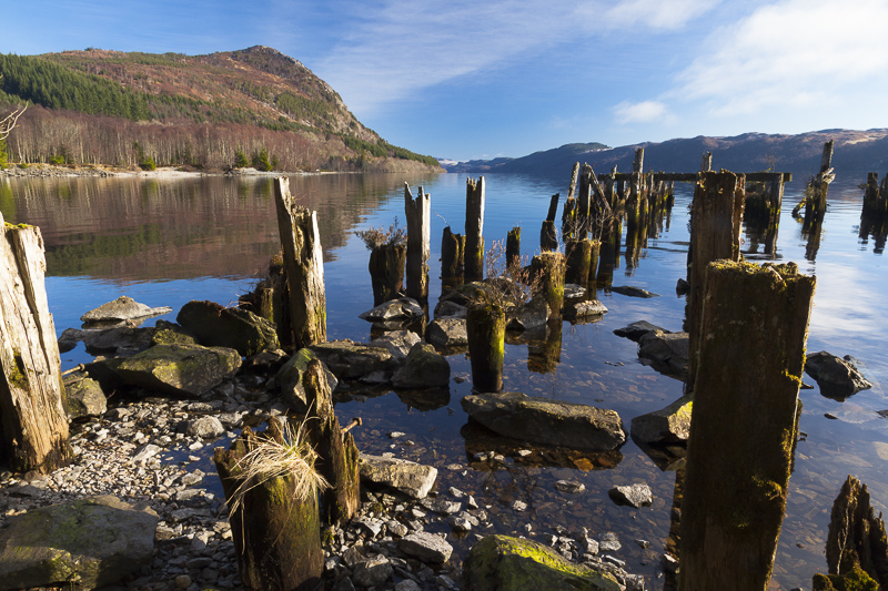 Loch Ness near Invermoriston