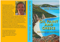 Oil Paint and Greece - Memories of Kefalonia - Book cover