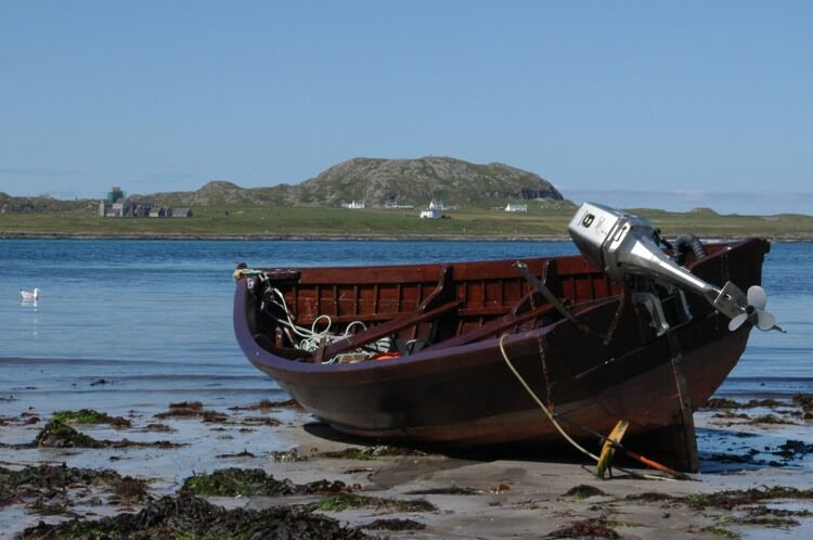 View of Iona from Fionnphort