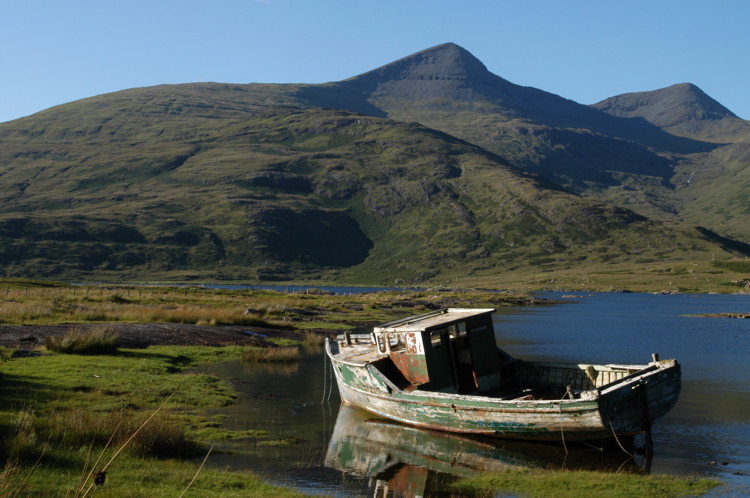 Boat on Loch Scridain