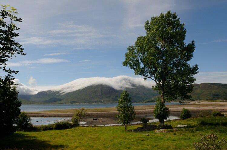 View of Skye from Glenelg