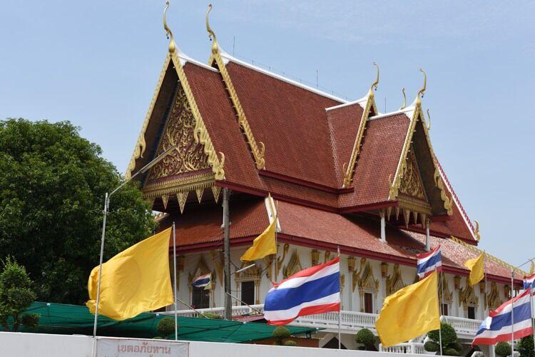 Ordination hall at Wat Phutthaisawan