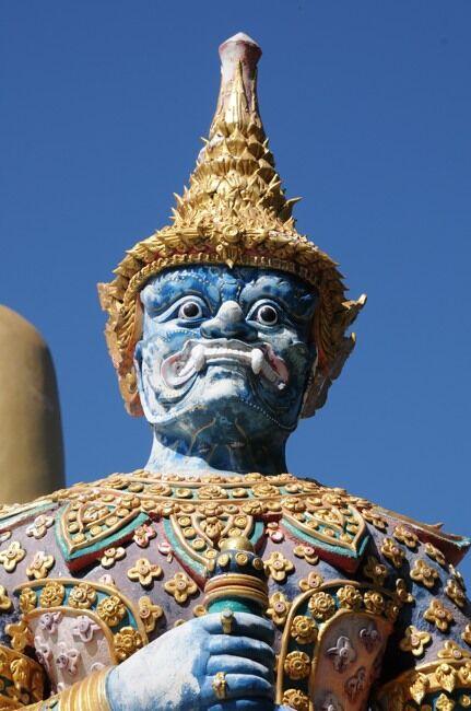 Dvarapala at Wat Phra That Doi Kham