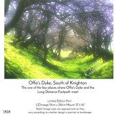 Offas Dyke, south of Knighton, Powys