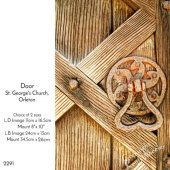 Door, St. George's, Orleton, Herefordshire