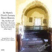 St. Martin's Church, Cwmyoy, Brecon Beacons