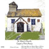 St.Mary the Virgin, Capel-y-Ffin, Powys