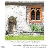 St.Marys Church, Craswall, Herefordshire