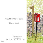 Country Post Box, Gaer, nr Brecon