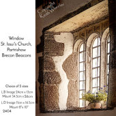 Window, St Issui's Church, Partrishow