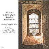 Window, Shobdon Church