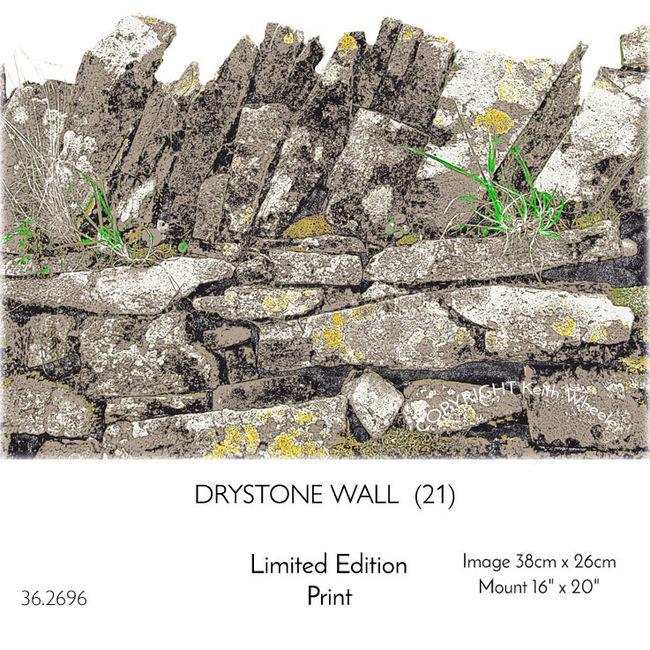 DRYSTONE WALL (No.21)