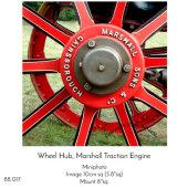 Wheel Hub, Marshal Traction Engine